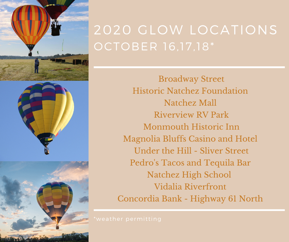 Balloon Glow Locations
